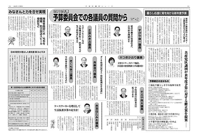 区議団ニュース2012年3月号2-3面